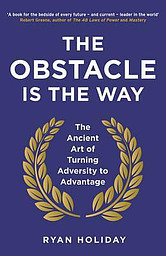 The Obstacle is the way book cover photo