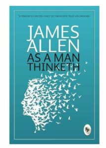 as a man thinketh book cover photo