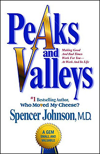Peaks and valleys book cover photo