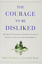 The courage to be disliked book cover photo