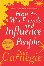 How to win friends and influence people book cover photo