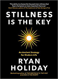 stillness is the key book cover photo