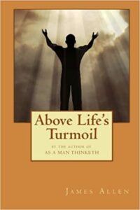 Above life's turmoil Book cover photo