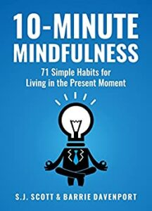 10 minute mindfulness book cover photo