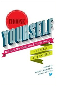Choose Yourself book cover photo