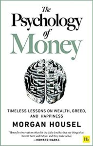The psychology of money book cover photo
