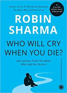 Who will cry, when you die book cover photo