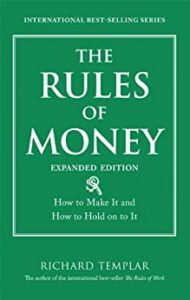 The Rules of Money Book Cover Photo