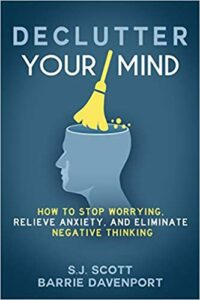 Declutter your mind book cover photo