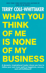 What You Think of Me Is None of My Business book cover photo