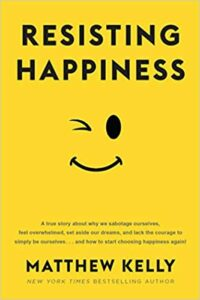 Resisting Happiness Book cover photo