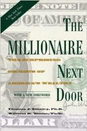 the millionaire next door book cover photo