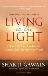 Living in the light book cover photo